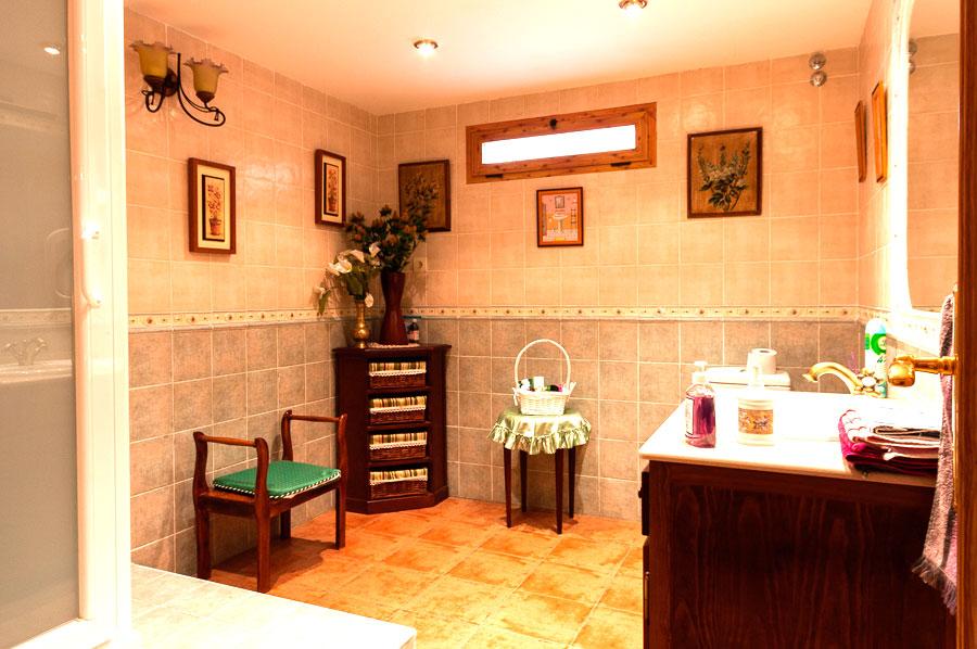 Casa-Rural-El-Balcon-de-Siete-Picos-baño